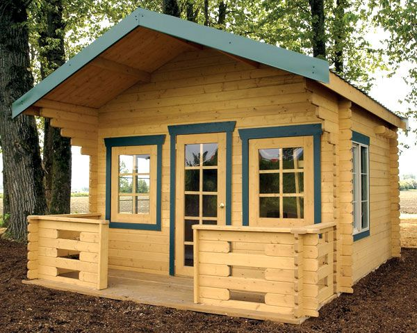 Garden Shed One Room Retreat Neat And Attractive And