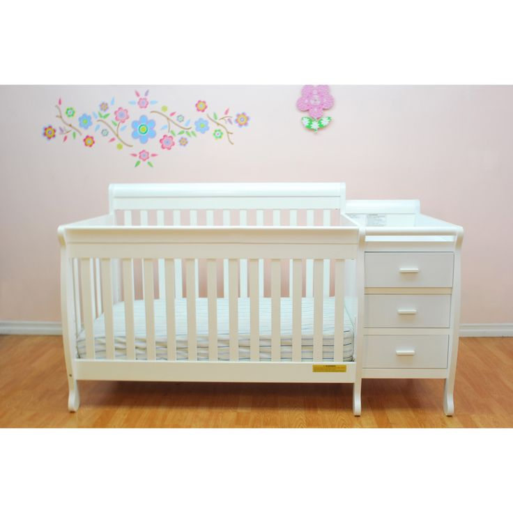 The Mikaila Milano Convertible Crib Is Perfect For The Space Conscious  Family. Its Versatile Build Creates The Perfect Baby Station And The Changing  Table ...