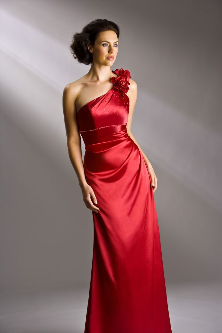 1000  images about Top 50 Scarlet-Red Bridesmaid Dresses on ...