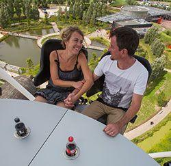 Prenez de la hauteur au Parc du Petit Prince © AAA/Meyer