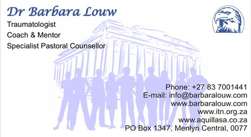 Dr Barbara Louw Business Card March 2017