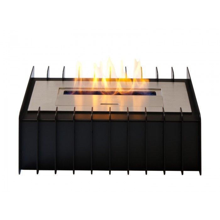 Bio Ethanol Fireplace Tabletop Ventless Burner Insert Stainless Steel Home Decor #IgnisProducts