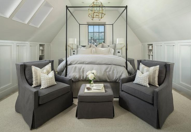 cool Brass and Glass Lantern Over Iron Canopy Bed - Transitional - Bedroom by http://www.best100homedecorpics.us/attic-bedrooms/brass-and-glass-lantern-over-iron-canopy-bed-transitional-bedroom/