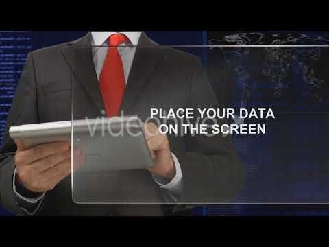 Touch Screen (Stock Footage)