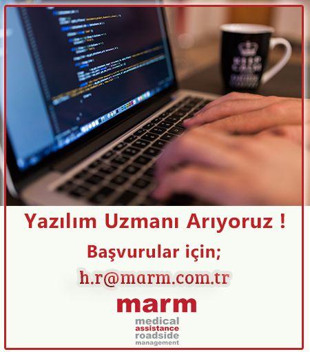 """""""Yazılım Uzmanı"""" arıyoruz. Başvurularınızı h.r@marm.com.tr adresine yapabilirsiniz.   İlan detayları için lütfen aşağıdaki linke tıklayınız ! https://marmassistance.blogspot.com.tr/2017/03/yazlm-uzman-aryoruz.html  #ilan #yazılımuzmanı #softwaredevelopment #yazılımcı #IT #BT #software #marmassistance #inhousedevelopment #seniorsoftwaredevelopment"""