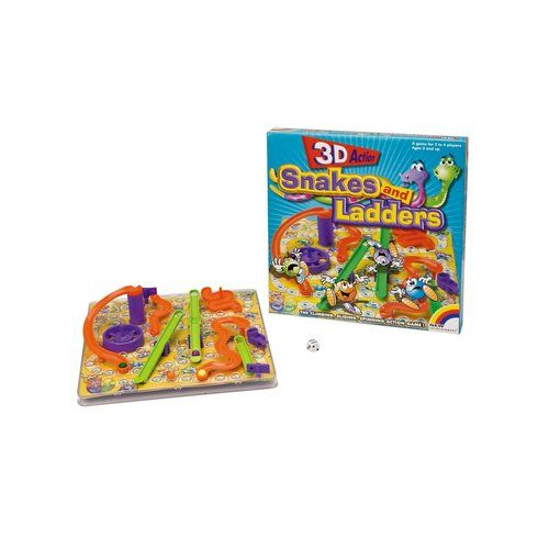 Superb 3D Snakes and Ladders Now At Smyths Toys UK! Buy Online Or Collect At Your Local Smyths Store! We Stock A Great Range Of Preschool Board Games At Great Prices.