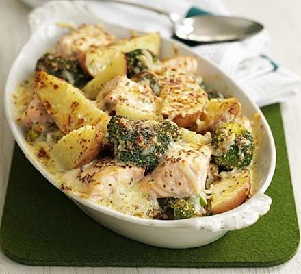 A classic combination of flavours for a midweek family meal - make this recipe in just one pot