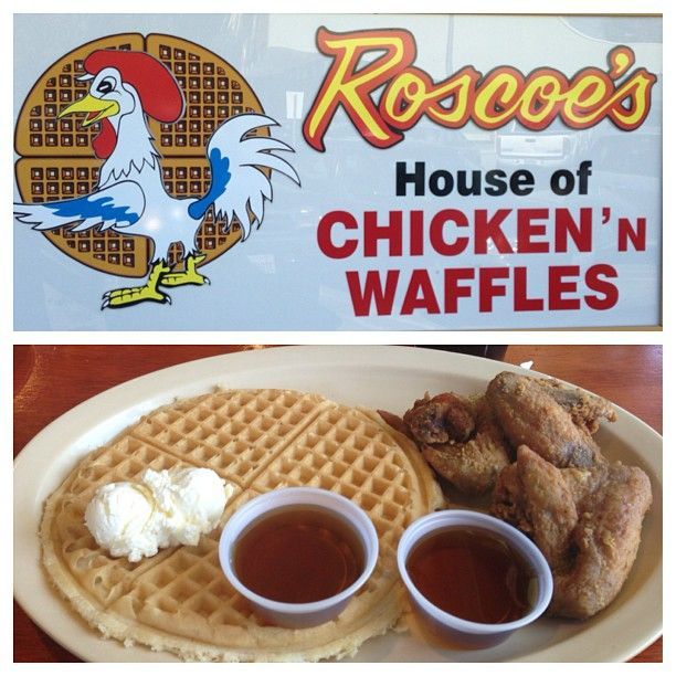 Roscoe's House of Chicken and Waffles, 106 West Manchester Ave, Los Angeles, CA 90003 (323) 752-6211