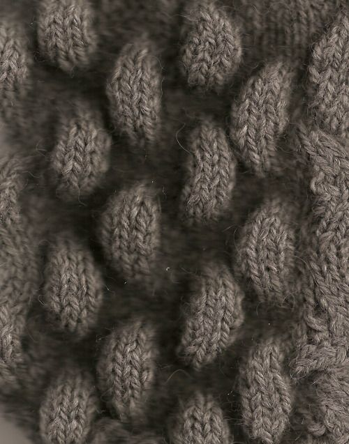 3D Textiles - dimensional knitted surface pattern texture - knit sample; knitwear design // Pin Intertwine