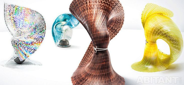 Инновационные светильники от Laokoon. Интуитивный женский дизайн в стиле фэшн-структурализма.