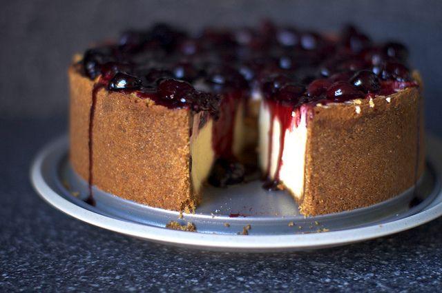 new york cheesecake by smitten, via Flickr
