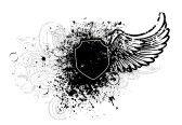 http://us.cdn1.123rf.com/168nwm/mcdonald/mcdonald0911/mcdonald091100006/5894039-black-schild-und-fl-gel-design-mit-grunge-malen-splatter.jpg...