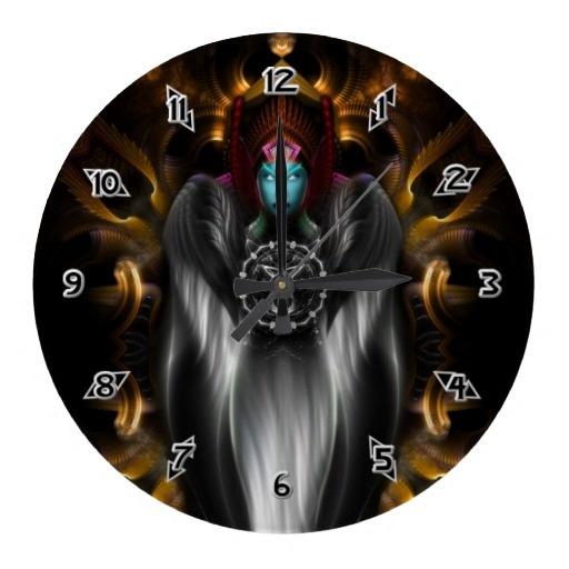 Riddian Queen POLKM401 Digital Art Wall Clock $28.10 - Click Here http://xzendor7.com/xzendor7-wall+clocks.php