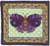 Animal Fayre Miniatures - Purple Butterfly