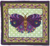 Animal Fayre Miniatures - Purple Butterfly