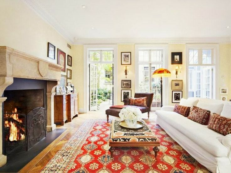 17 Best Ideas About Red Persian Rug Living Room On