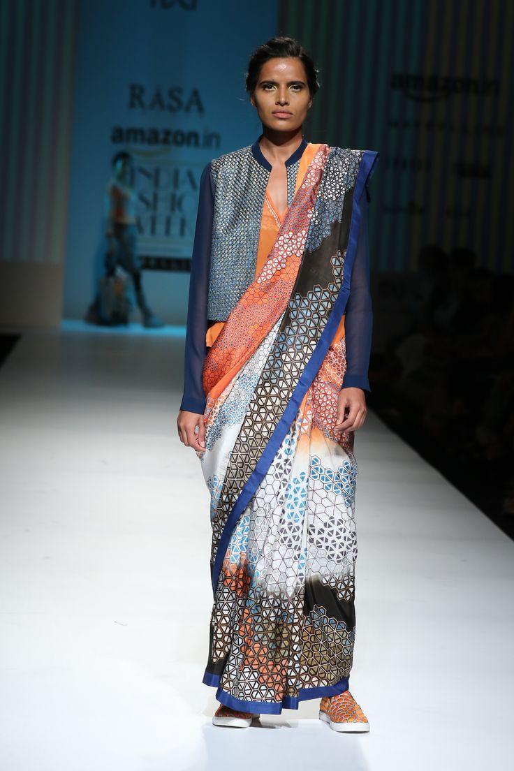 #AIFWSS16 #RasaJaipur #spring #summer #fusion #Indian #sensibility #aesthetics #prints #traditional #contemporary #modern #twist #versatile #casual #urban #sharp #easy #comfortable #prints #patterns #SummerCoat