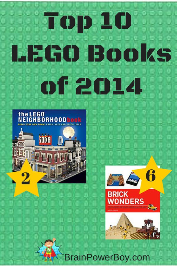 Top 10 LEGO Books of 2014. Find great LEGO titles and see which one was our top pick for boys (it is sooo good!)
