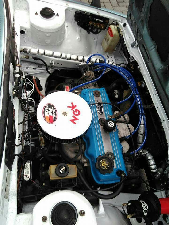 E3 Ford Laser Engine