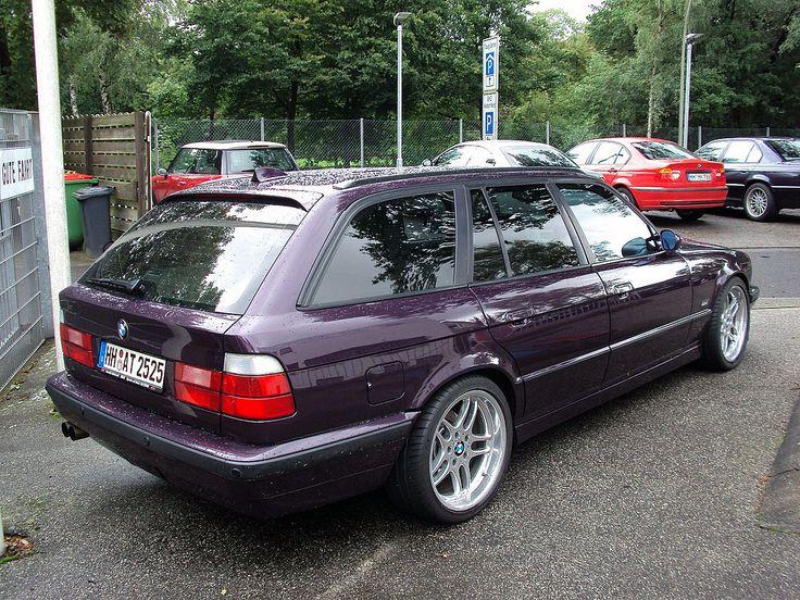 BMW 5 Series E34 (1988–1996) - BMW (E34) 540i Touring
