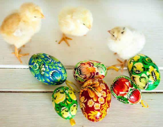 hand geschilderd Pasen eieren vakantie decoratie eco vriendelijke Easter Gifts easter gifts kunst collectible handgemaakte speelgoed Pasen decor schattige kinderen speelgoed rustieke charme