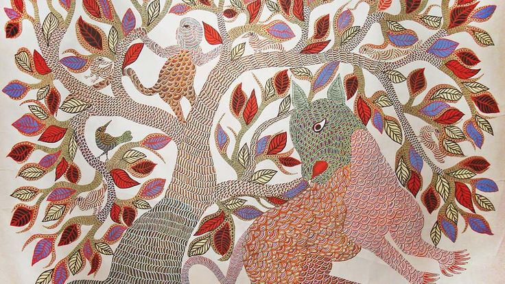 #Gond #Painting