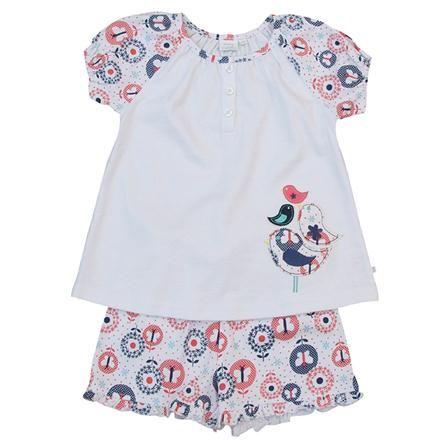 Pijama corto de Mini Vanilla, multicolor