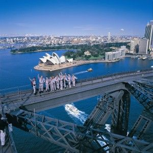 Sydney Harbour Bridge climb - I think that could be fun.