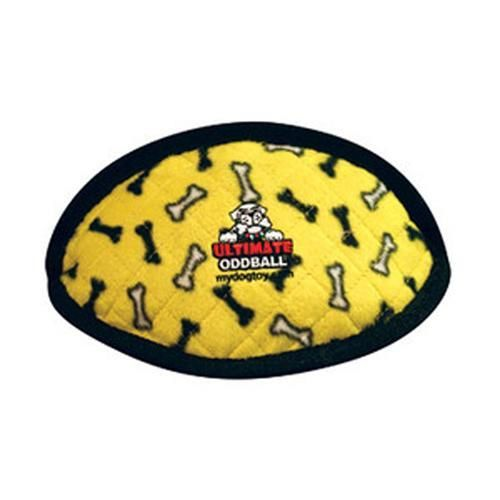 Tuffy Dog Toys - Ultimate Odd Ball Yellow Bones
