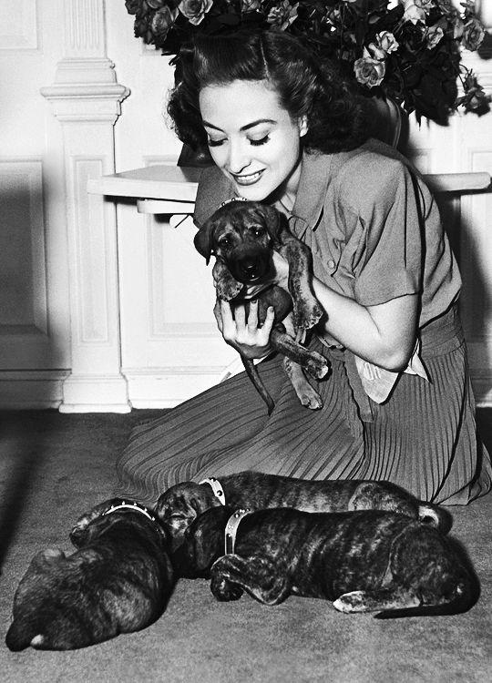 Joan Crawford, c. 1938.