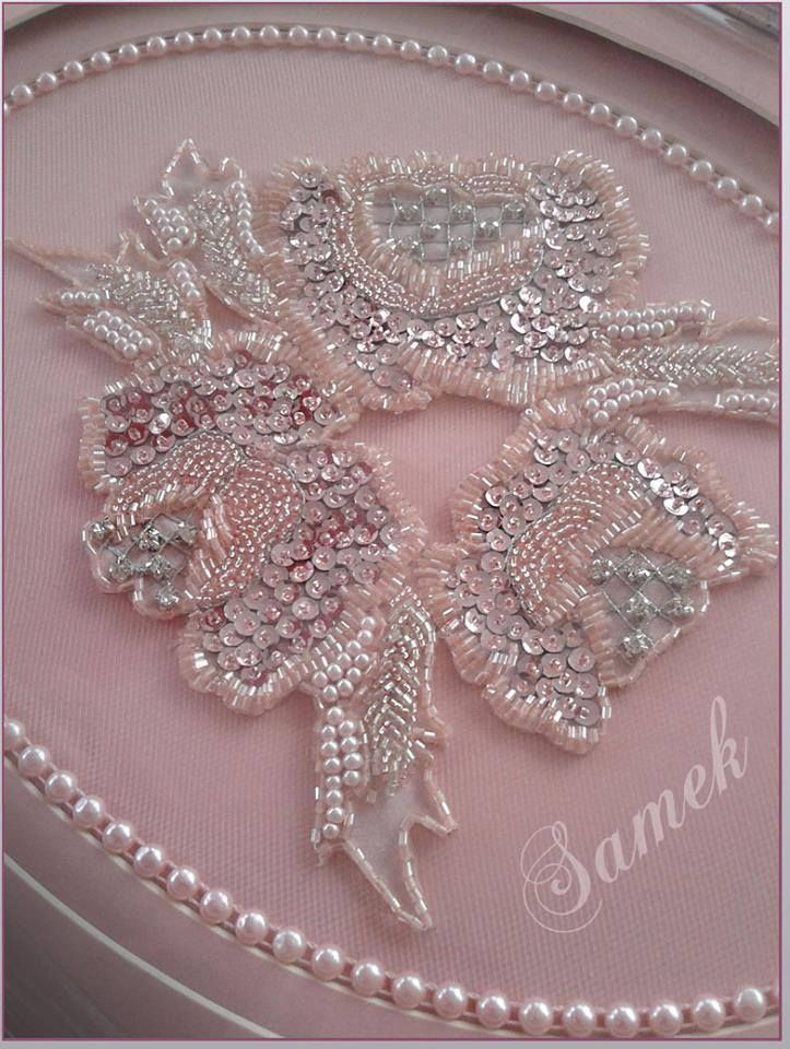 Вышивка бисером цветы