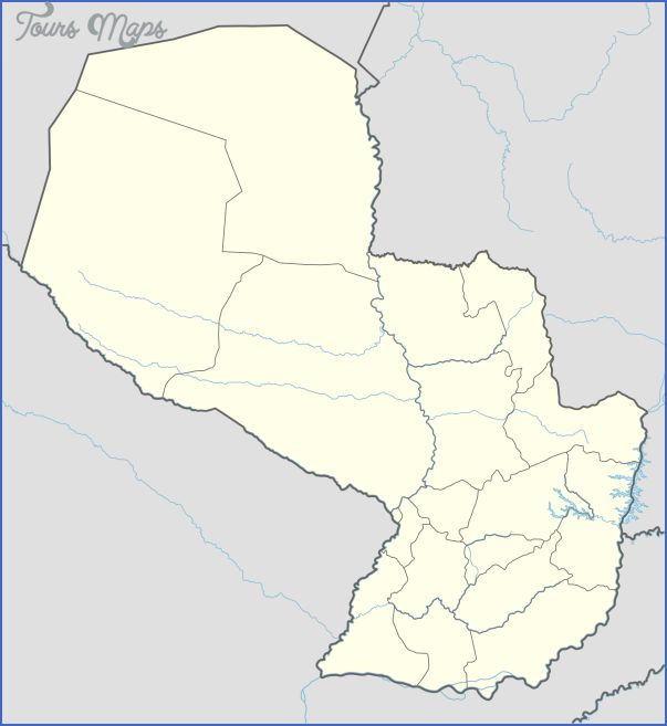 awesome Coronel Oviedo Map Paraguay