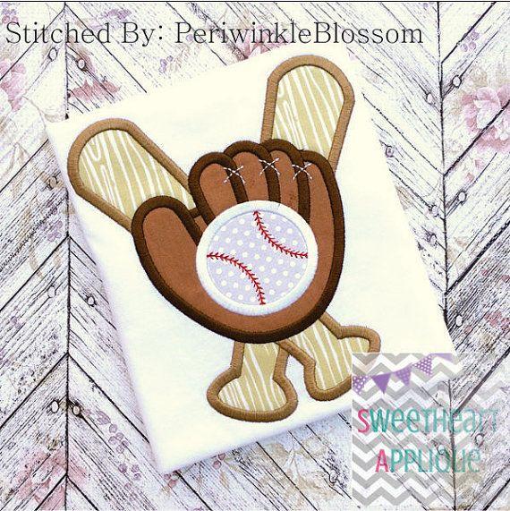 Diseño de apliques de guante de béisbol por SweetheartApplique