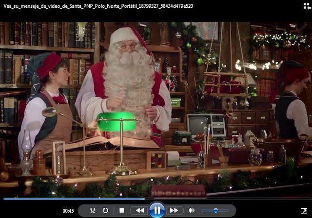 El video personalizado de Santa Claus