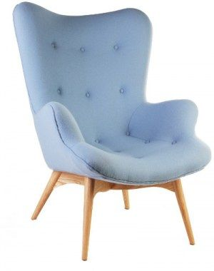 Fauteuils : Grant Featherston chair lichtblauw