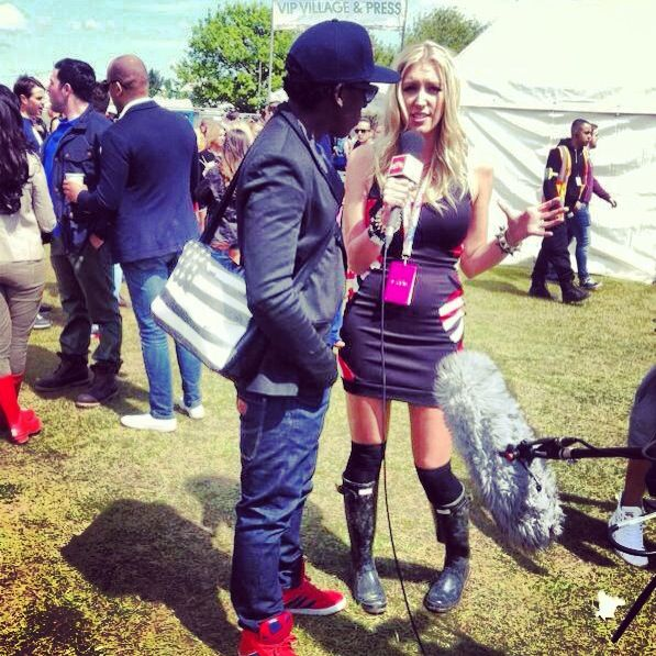 interviewing Joe Le Grove at We Are FSTVL.