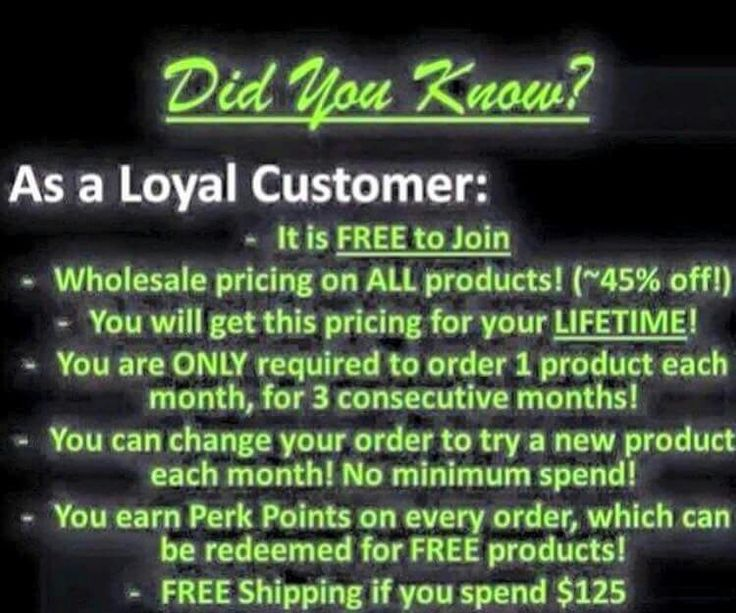 It Works Loyal Customer Program http://tiffanyalwayswraps.itworks.com