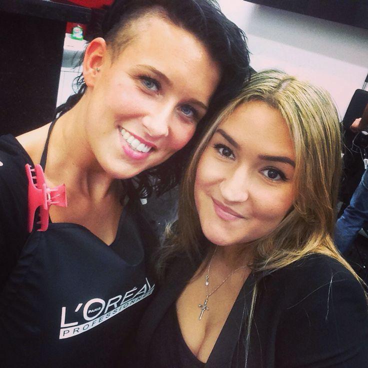 Me and Vanessa #Loreal