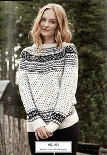 Ravelry: 225R-2 Setesdalskofte og -genser med rundfelling pattern ...