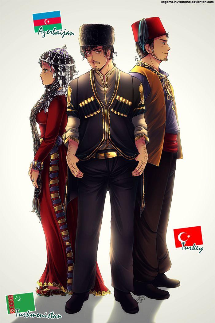 APH Turkic Family By Kagome Inuyashkina Hetalia