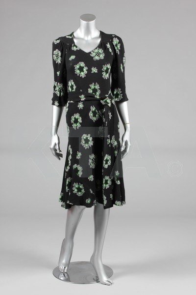 Ossie Clark dress with Celia Birtwell print