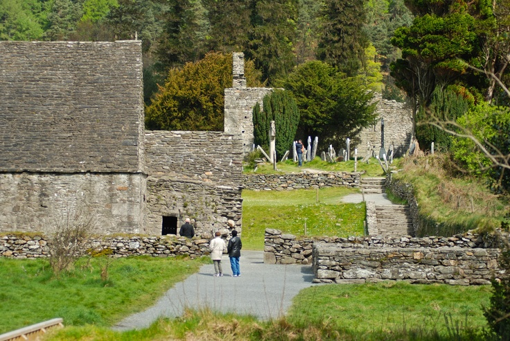 old refectory, Glendalough, Co. Wicklow, Ireland