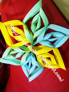 Video Tutorial ♥ Garland of paper to use as decoration for parties of various kinds.