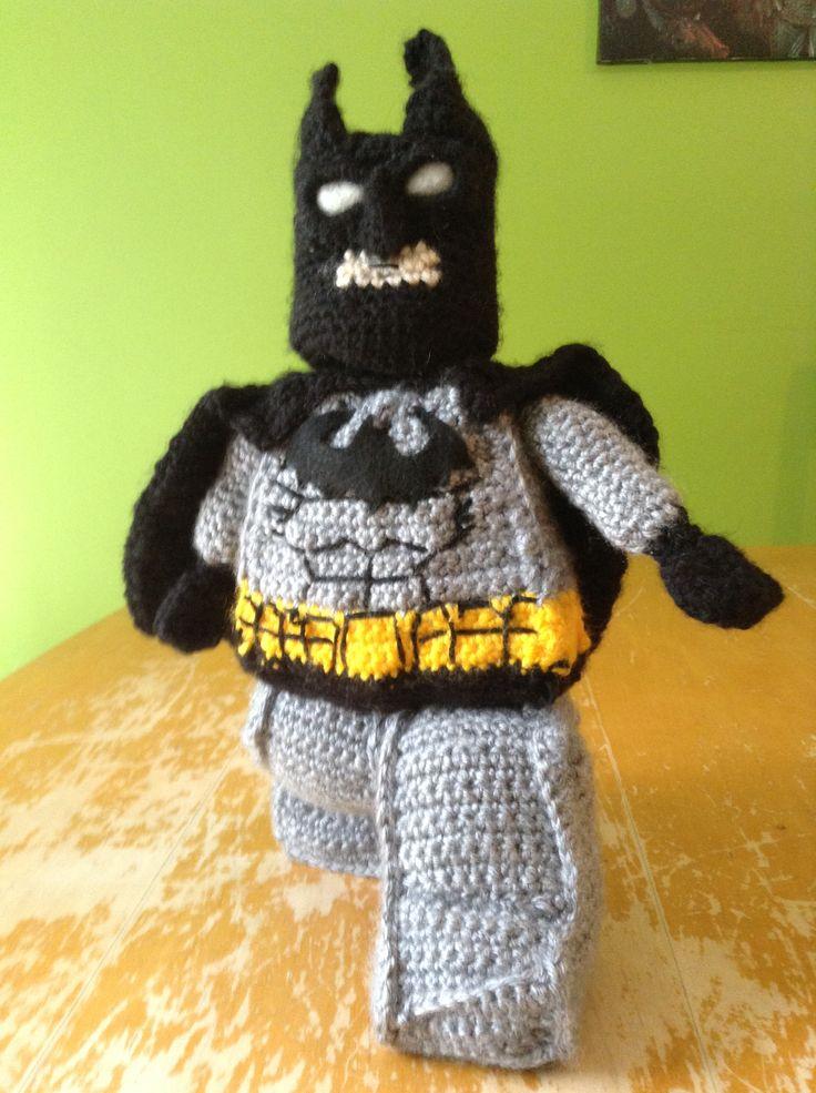 Moderno Los Patrones De Crochet Batman Galería - Manta de Tejer ...