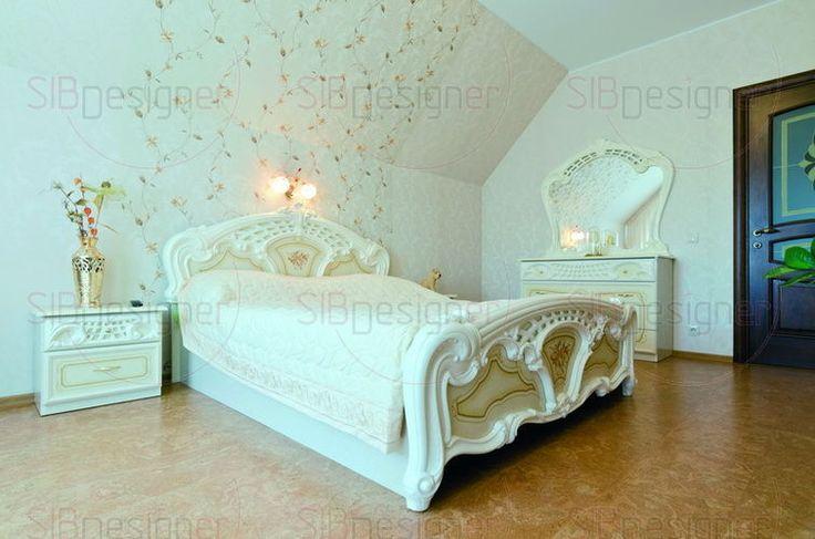 Интерьер коттеджа выполненный в спокойных тонах, Ирина Аникина, Новосибирск - СибДизайнер.ru