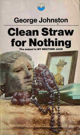 Clean Straw for Nothing traces the journey of successful war correspondent and journalist David Meredith as he abandons his career to live in exile on a Greek island with his beautiful wife Cressida. Johnston focuses on the developing relationship between David and Cressida and David emerges as a complex and reflective character, unable to find the freedom and answers he craves.