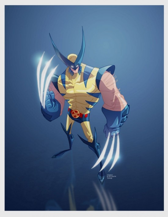 Goofy but cool. Still reminiscent off that 90's/2000's Wolvie, but... cool.