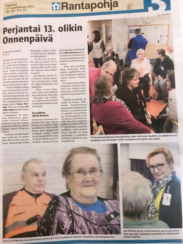 80 vanhusta viettämässä laatuaikaa yhdessä. #FiksuKotihoito pystyy tekemään eri tavalla.