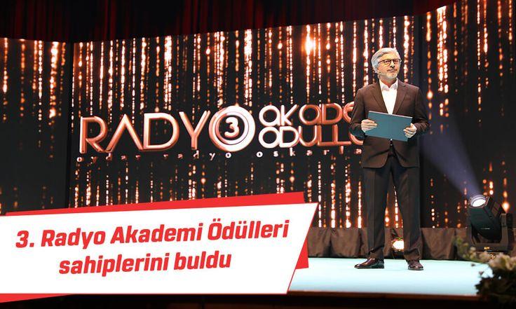 3. Radyo Akademi Ödülleri sahiplerini buldu #radyo #akademi #ödülleri