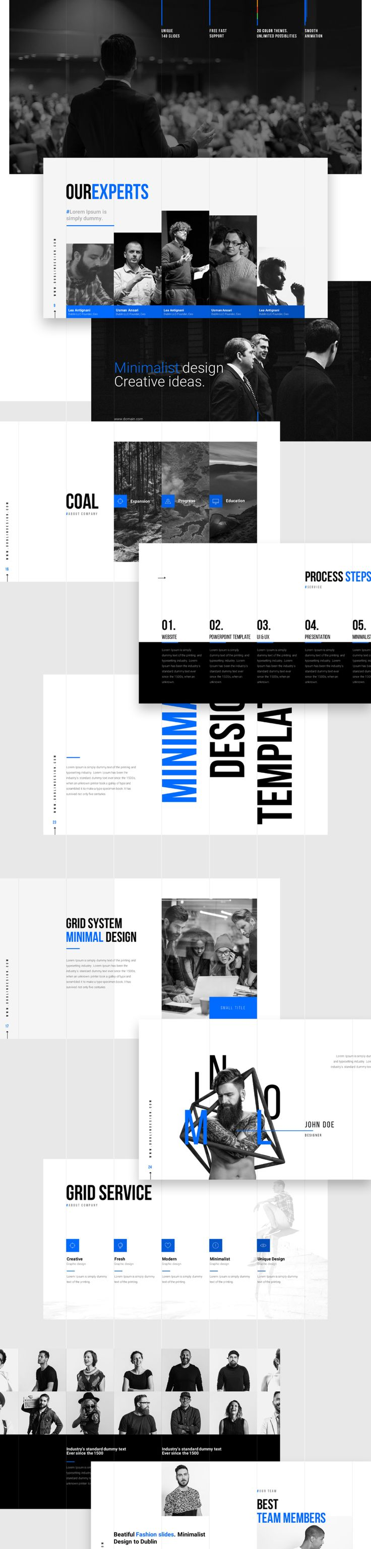 Grids is a Minimalist multipurpose keynote and powerpoint presentation. When…